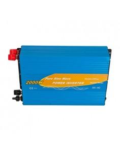 Convertisseur 2000W 12V onde pure 4000W AC 230V campeur photovoltaïque voiture