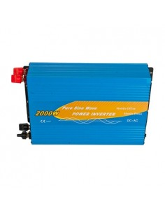 Power Inverter 2000W 12V Onda Pura MAX 4000W AC 230V Camper Fotovoltaico Auto
