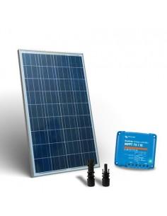 Kit Solare 100W Base2 Pannello Fotovoltaico Regolatore di carica 10A MPPT MC4