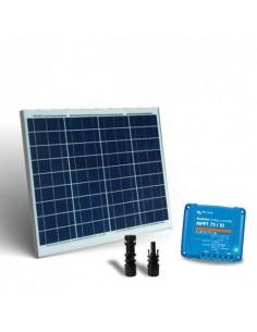 Kit Solare 50W 12V Base2 Pannello Fotovoltaico Regolatore di carica 10A MPPT MC4