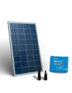 Kit Solare 150W Base2 Pannello Fotovoltaico Regolatore di carica 15A MPPT MC4