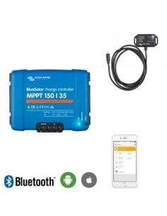 Set regolatore di carica 35Ah MPPT 12/24/48V 150Voc + Controllo Bluetooth