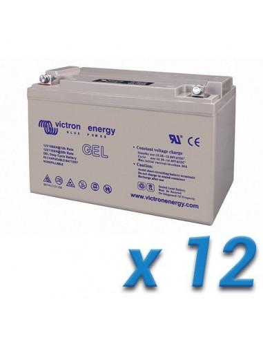 Batería GEL DEEP CYCLE 130Ah 12V Victron Energy Fotovoltáico Náutica Cámper