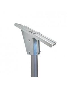 Support Tête Pôle de montage pour panneaux solaires 10-20-30W photovoltaïques