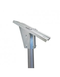 Supporto Testapalo di fissaggio per pannelli solari da 10W 20W 30W Fotovoltaico