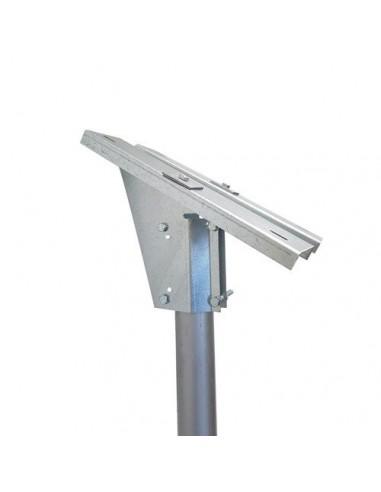 Supporto Testapalo di fissaggio per pannelli solari da 10-20-30W Fotovoltaico