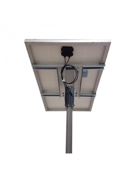 Supporto Testapalo di fissaggio per pannelli solari da 50W 80W Fotovoltaico