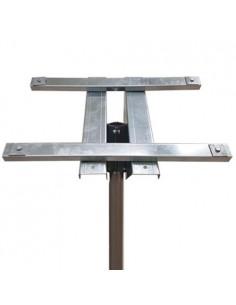 Top pole mount kit for solar panels 100W 130W 150W photovoltaic