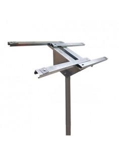 Support Tête Pôle de montage panneaux solaires 100W 130W 150W photovoltaïques