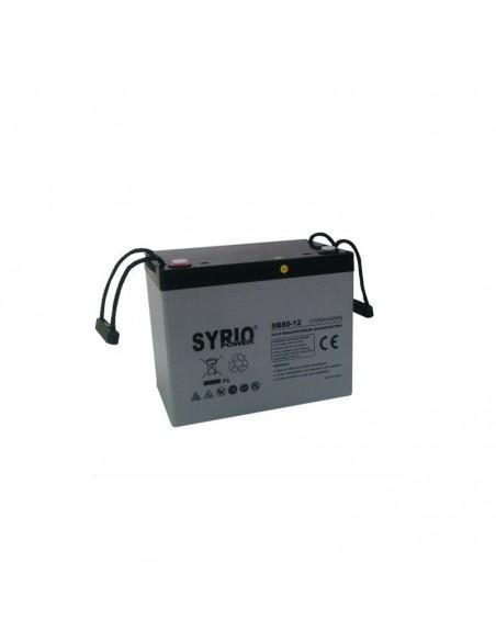 Kit Solare Votivo 100W Pannello Solare, Batteria, Regolatore di carica, LED
