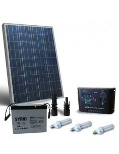 Solarleuchte Kit Fluo PUNTOENERGIA 80W 12V fur Innere Photovoltaik Off-Grid