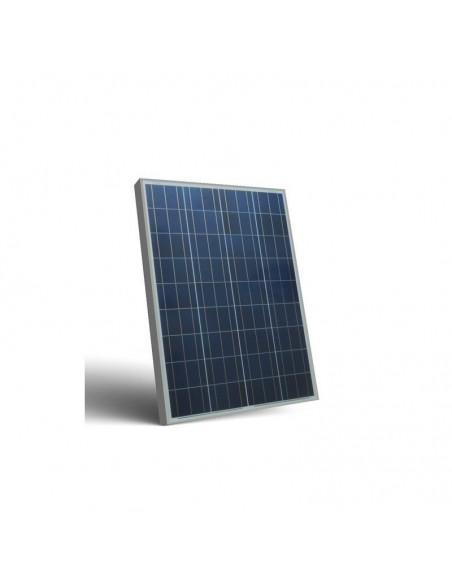 Kit Solare Votivo 80W 12V Pannello Solare, Batteria, Regolatore di carica, LED