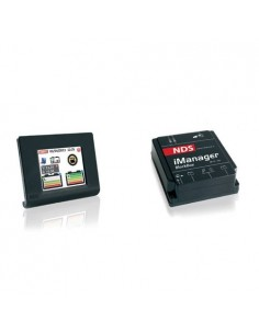 iManager 150A 12V con display touch sistema di gestione 2-3 batterie camper