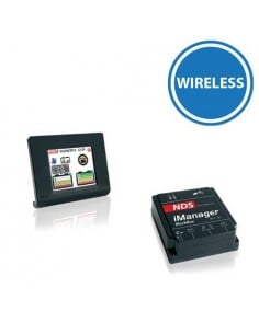 iManager 150A 12V Wireless display touch sistema di gestione 2-3 batterie camper