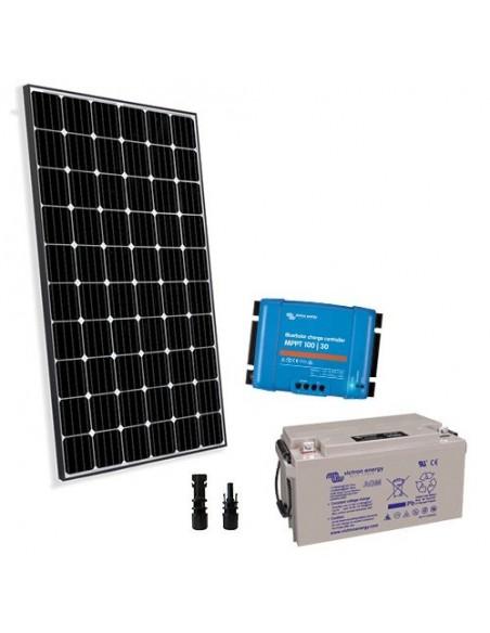 Kit solaire pro 260W 12V Panneau Solaire Regulateur de Charge 20A MPPT