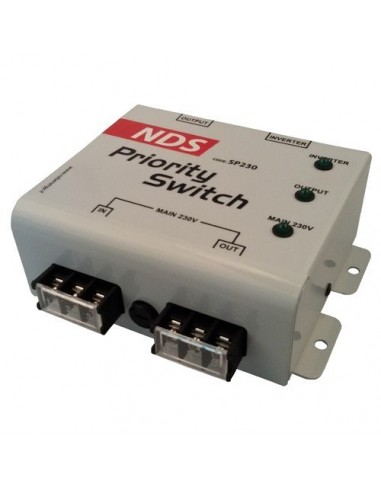 Management-System 230V Priority Switch Wechselrichter Batterie ...