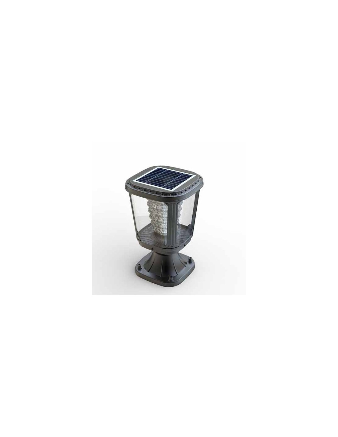 Lampada da esterno a led ad energia solare 3000K Lanterna Pannello Fotovoltaico