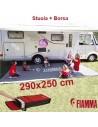 Stuoia per Veranda Patio-Mat Fiamma Tappeto Lavabile Camper Caravan Roulotte