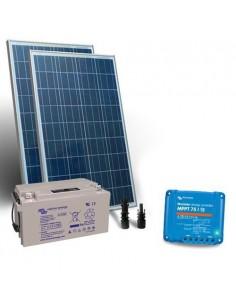Kit Solaire 160W 12V Pro2 Panneau Contrôleur de charge 15A MPT Batterie 90Ah