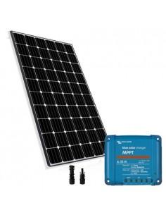 Kit Solare 300W 24V Base2 Pannello Europeo Regolatore di carica 15A MPPT