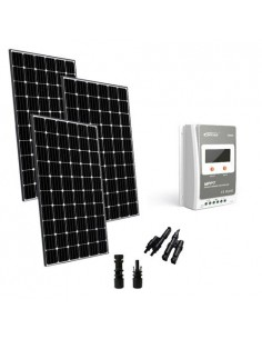 Kit solaire base 900W 24V Europèen Regulateur de Charge 40A MPPT