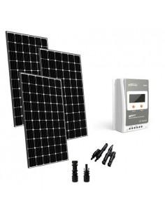 Kit Solare Base 900W 24V Pannello Monocristallino Regolatore di Carica 40A MPPT