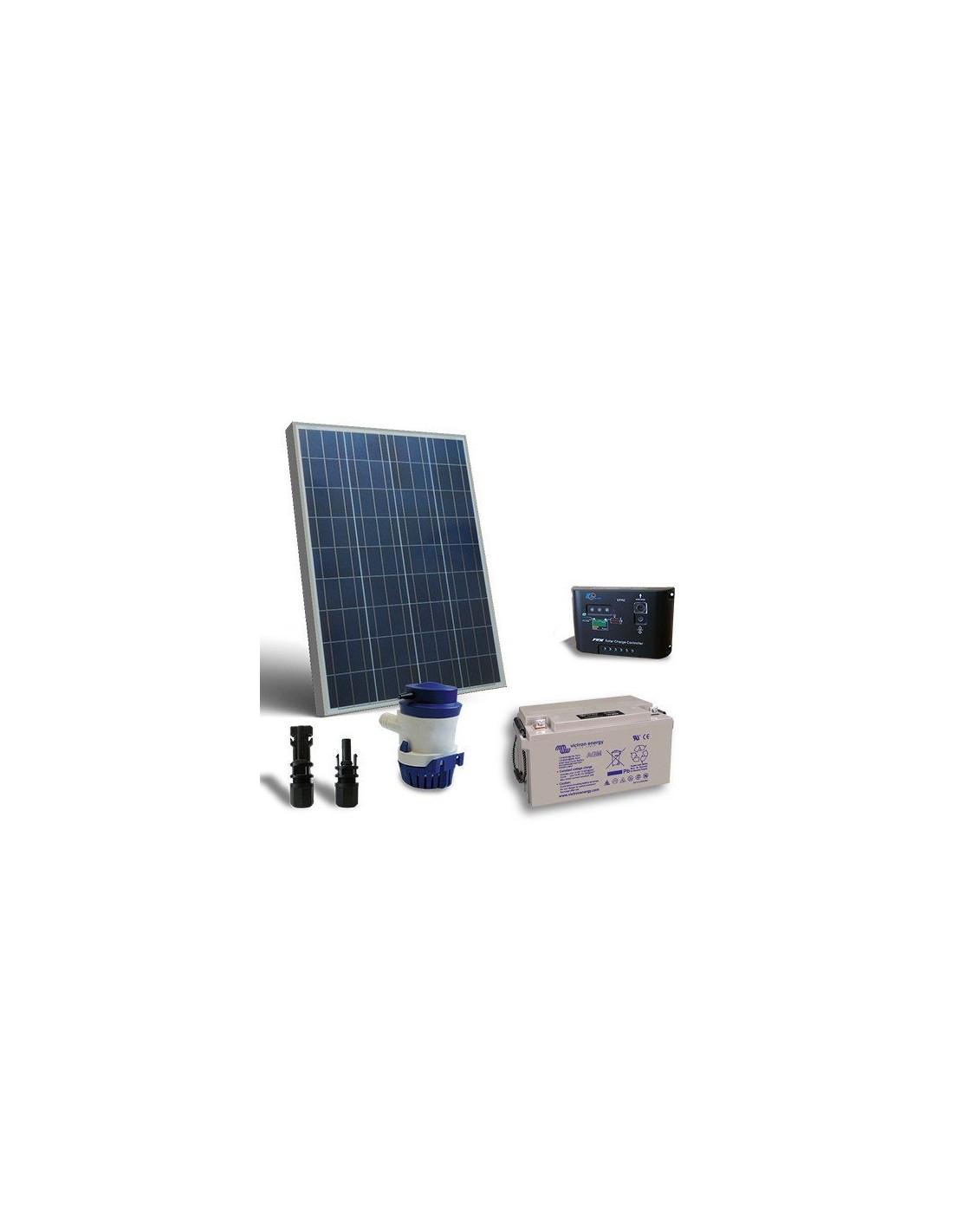 Kit Pannello Solare 12v : Kit solare irrigazione l m v pannello regolatore pompa