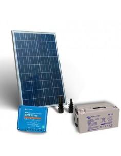 Kit Solaire 80W 12V Pro2 Panneau Contrôleur de charge 10A MPPT Batterie 38Ah