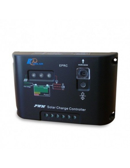 Kit Chalet 50W 12V Base Panneau Solaire Regulateur de Charge Batterie 40Ah